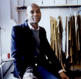 Joe Casely-Hayford, by Sal Idriss - NPG x125666