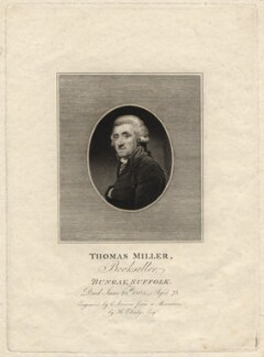 Thomas Miller, by Edward Scriven, after  Henry Edridge - NPG D13660