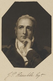 John Philip Kemble, by William Say, after a painting attributed to  Sir Thomas Lawrence - NPG D11306