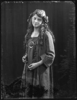 Sylvia Oakley as Wendy in 'Peter Pan' at the St James's Theatre, by Bassano Ltd - NPG x101327