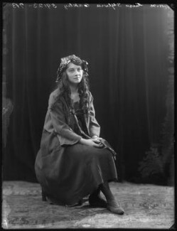 Sylvia Oakley as Wendy in 'Peter Pan' at the St James's Theatre, by Bassano Ltd - NPG x101328