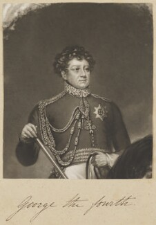 King George IV, by William Say, published by  William Sams, after  James Northcote - NPG D11314