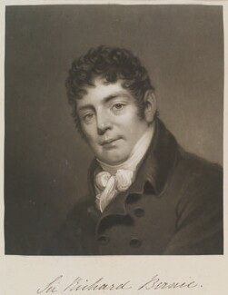 Sir Richard Birnie, by William Say, published by and after  James Green - NPG D11320