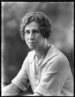 Hon. Violet Averil Margaret Campbell, by Bassano Ltd - NPG x121782