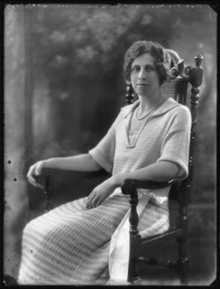Hon. Violet Averil Margaret Campbell, by Bassano Ltd - NPG x121785