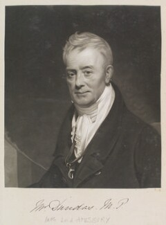 Charles Dundas, Baron Amesbury, by William Say, after  Sir William Beechey, (1823) - NPG D11326 - © National Portrait Gallery, London