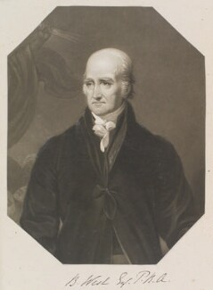 Benjamin West, by and published by William Say, after  James Green - NPG D11328