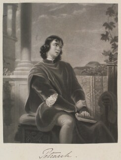 'Petrach', by William Say - NPG D11334