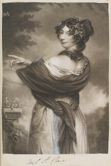 Emily St Clare ('Portrait of a lady'), by and published by William Say, after  Henry Thomson - NPG D11343