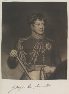 King George IV, by William Say, published by  William Sams, after  James Northcote - NPG D11344