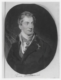 Prince Klemens Lothar Wenzel von Metternich, by William Say - NPG D11353