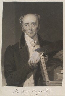 Charles Grey, 2nd Earl Grey, by William Say, published by  Rudolph Ackermann Jr, after  Frederick Richard Say - NPG D11356