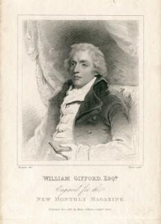 William Gifford, by Henry Meyer, after  John Hoppner - NPG D13690