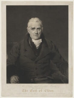 John Scott, 1st Earl of Eldon, by and published by George Thomas Doo, and published by  Colnaghi, Son & Co, after  Sir Thomas Lawrence - NPG D13691