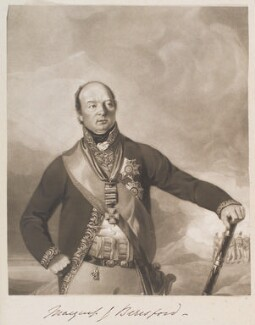 William Carr Beresford, Viscount Beresford, by William Say, published by  Edward Orme, after  Thomas Heaphy - NPG D11379