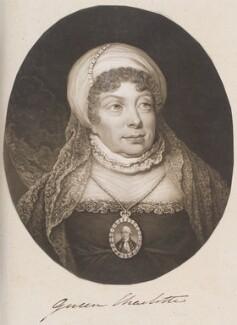 Sophia Charlotte of Mecklenburg-Strelitz, by William Say, after  Arthur William Devis - NPG D11387