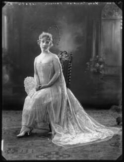 Louise Geraldine (née Martyn), Lady Gaunt, by Bassano Ltd - NPG x121837