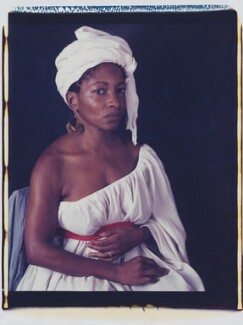 Bonnie Greer, by Maud Sulter, 2002 - NPG  - © Maud Sulter