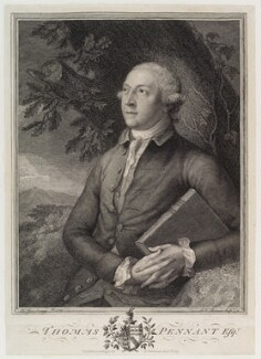 Thomas Pennant, by John Keyse Sherwin, after  Thomas Gainsborough - NPG D19671