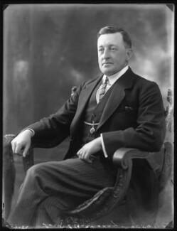 Trevor Ogilvie-Grant of Grant, 4th Baron Strathspey, by Bassano Ltd - NPG x121877