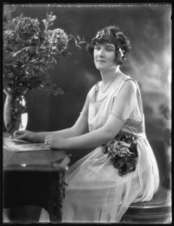 Hon. Augusta Caroline Georgina Harriet Mary Frobisher (née Napier), by Bassano Ltd - NPG x121897