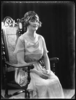 Hon. Augusta Caroline Georgina Harriet Mary Frobisher (née Napier), by Bassano Ltd - NPG x121898