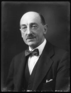 Richard Godolphin Walmesley Chaloner, 1st Baron Gisborough, by Bassano Ltd - NPG x121918