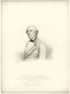 Samuel Barrington, by Gaetano Stefano Bartolozzi, published by  T. Cadell & W. Davies, after  William Evans, after  Gilbert Stuart - NPG D13735