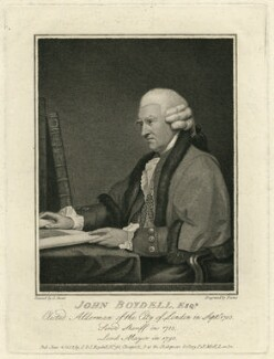 John Boydell, by Georg Siegmund Facius, after  Gilbert Stuart - NPG D13737