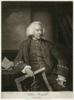 John Boydell, by Valentine Green, after  Josiah Boydell - NPG D13738