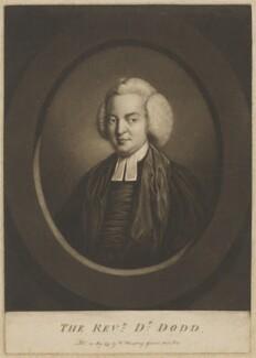 William Dodd, published by William Humphrey, after  Unknown artist - NPG D13740