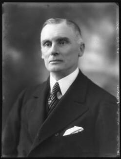 Sir Edmund Royds, by Bassano Ltd - NPG x121992