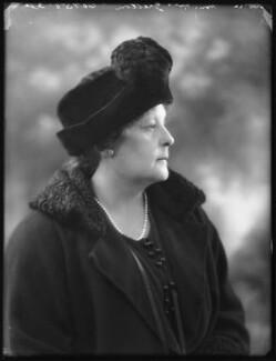 Maud Helen Gretton (née Eveleigh-de-Moleyns), Lady Gretton, by Bassano Ltd - NPG x75239