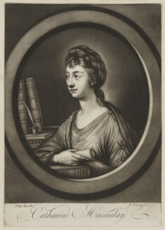 Catharine Macaulay (née Sawbridge), by Jonathan Spilsbury, after  Katharine Read - NPG D13745