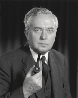 Harold Wilson, by Rex Coleman, for  Baron Studios, 6 November 1963 - NPG x125715 - © National Portrait Gallery, London