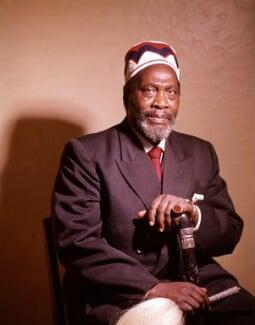 Jomo Kenyatta, by Rex Coleman, for  Baron Studios - NPG x125733