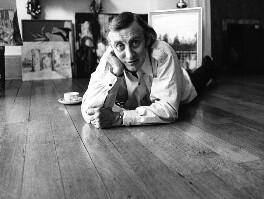 Spike Milligan, by Godfrey Argent, 30 September 1969 - NPG  - © National Portrait Gallery, London