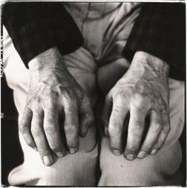 David Hockney, by Steve Pyke - NPG x45575