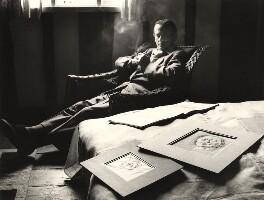 Graham Sutherland, by Peter Keen - NPG x36000