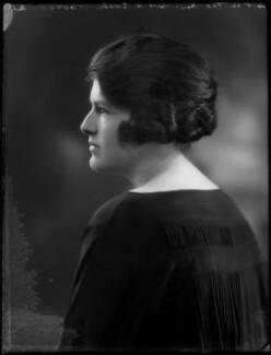 Sheila Marguerite Eaton (née Dumbleton), by Bassano Ltd - NPG x122063
