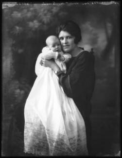 Elizabeth Valerie Cross (née Eaton); Sheila Marguerite Eaton (née Dumbleton), by Bassano Ltd - NPG x122064