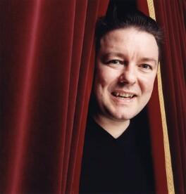 Ricky Gervais, by Spiros Politis - NPG x125840