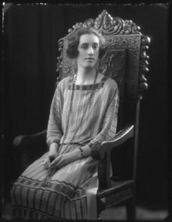 Hon. Doreen Julia Wright (née Wingfield), by Bassano Ltd - NPG x122094