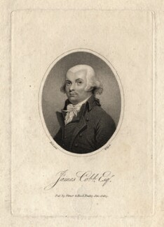 James Cobb, by William Ridley, published by  Vernor & Hood, after  William Russell Birch - NPG D13795