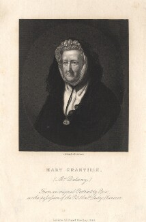 Mary Delany (née Granville), by Joseph Brown, after  John Opie - NPG D13796