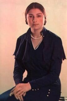 Elizabeth Annette Lee (née Solomon), by Madame Yevonde - NPG x125822
