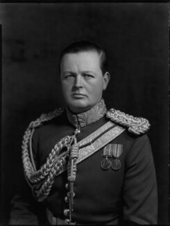 John Albert Edward William Spencer-Churchill, 10th Duke of Marlborough, by Bassano Ltd - NPG x81219