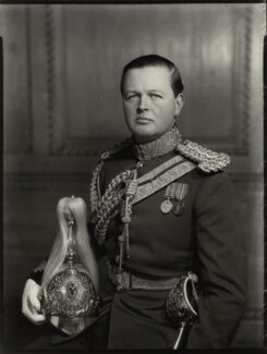 John Albert Edward William Spencer-Churchill, 10th Duke of Marlborough, by Bassano Ltd - NPG x81221