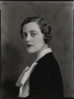 Mary Spencer-Churchill (née Cadogan), Duchess of Marlborough, by Bassano Ltd, 30 November 1934 - NPG x81224 - © National Portrait Gallery, London