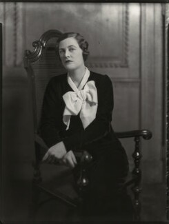 Mary Spencer-Churchill (née Cadogan), Duchess of Marlborough, by Bassano Ltd, 30 November 1934 - NPG x81226 - © National Portrait Gallery, London
